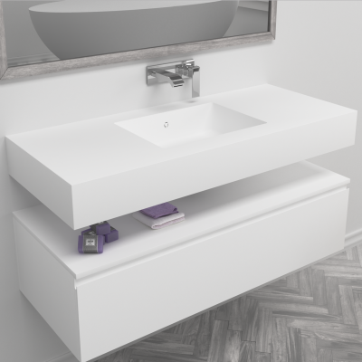 Plan Vasque en Corian® Energy 7720