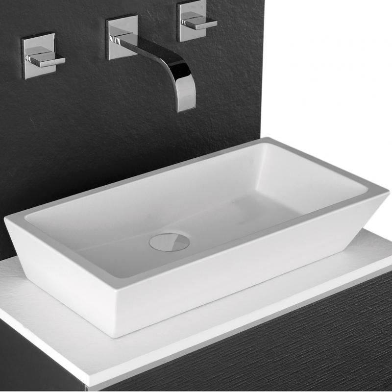 vasque poser fiora gamma lavabo sur plan de travail salle de bains. Black Bedroom Furniture Sets. Home Design Ideas