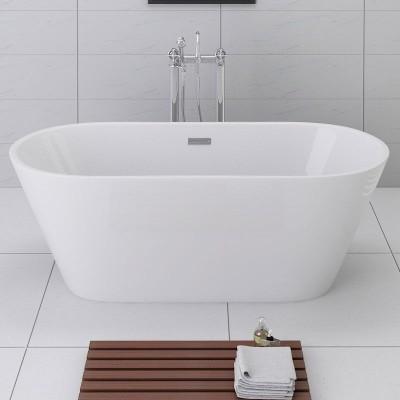 Baignoire en solid surface baignoires freestanding for Baignoire contemporaine design