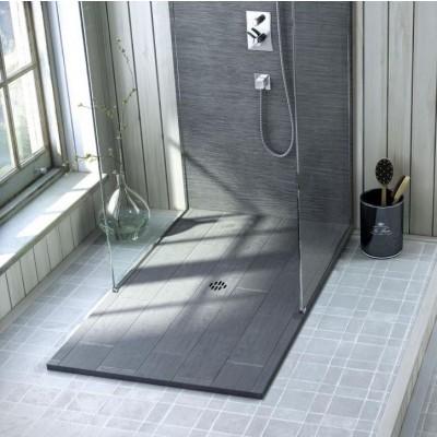 Receveur de douche sur mesure Silex Rustica
