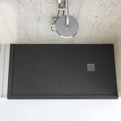 Douche avec cadre Sur mesure Fiora Silex