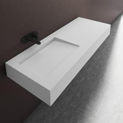 Vasque en corian tennessee lavabo design solid surface - Corian salle de bain ...