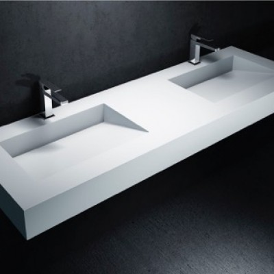 double vasque en corian tennessee solid surface. Black Bedroom Furniture Sets. Home Design Ideas