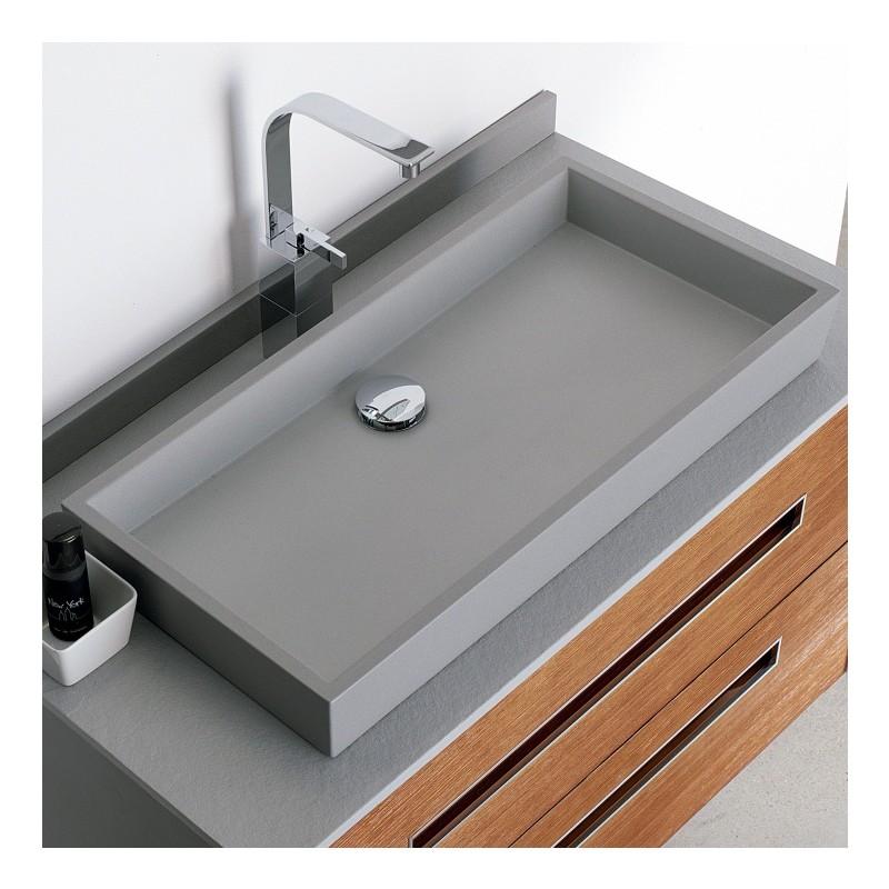 Vasque poser fiora alfa lavabo sur plan de travail - Fiora salle de bain ...