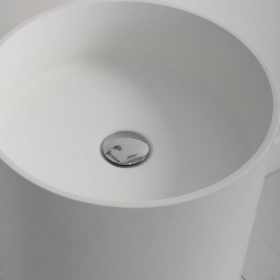Sink Blush in Solid Surface