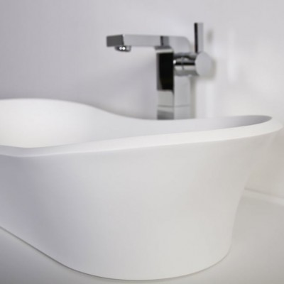 Sink Carnation in Solid Surface