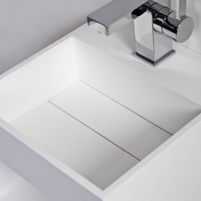 Sink Celosia in Solid Surface