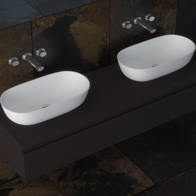 Sink Nantes in Solid Surface