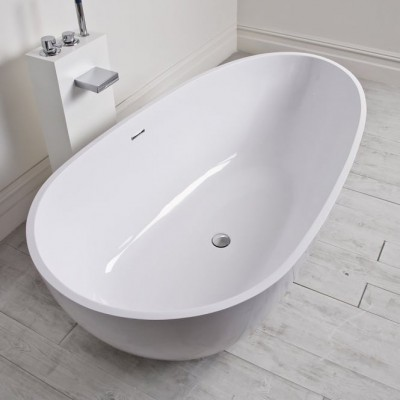 Bathtub Toulouse in Solid Surface