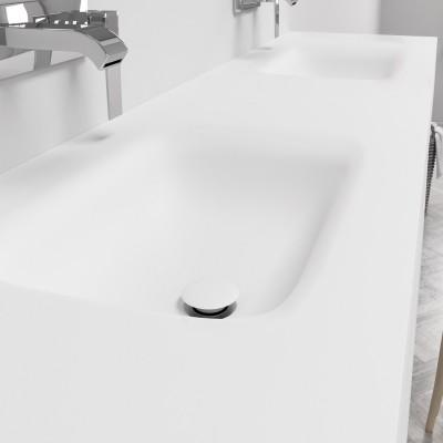 Double Sink Corian® Nevada