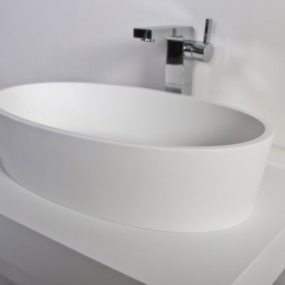 Sink Yarrow in Solid Surface