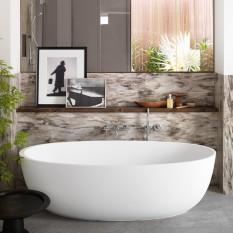 Delight Freestanding Bathtub in Corian®