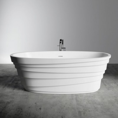 Bathtub Chic in Solid Surface