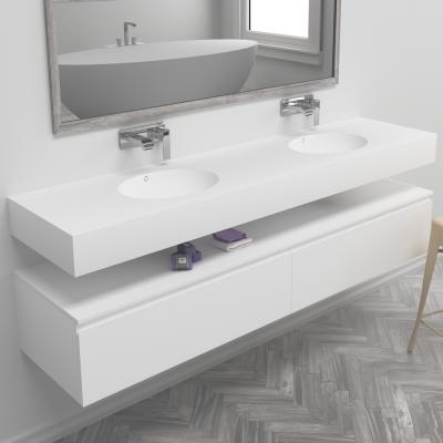 Double Sink Corian® Oval