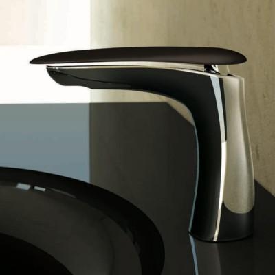 Washbasin Tap Synergy Chrome + Deep Espresso Corian®