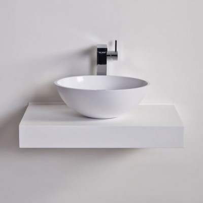 Sink Freesia in Solid Surface