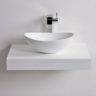 Sink Hibiscus in Solid Surface