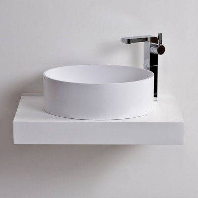 Sink Lyon in Solid Surface