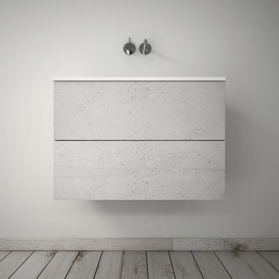 Plain cabinet 2 drawers