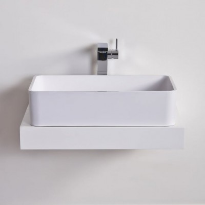 Sink Mimosa in Solid Surface
