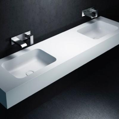 Double Basin Vanity Top Corian® Toronto