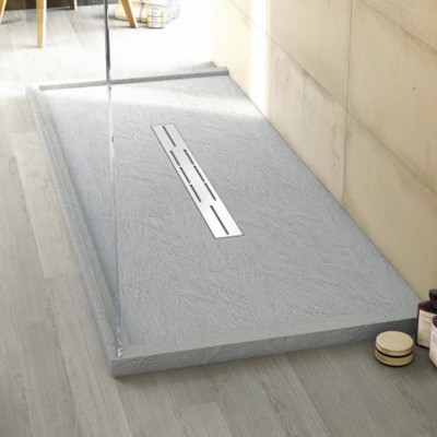 Shower trays luxurious bathrooms - Receveur douche corian ...