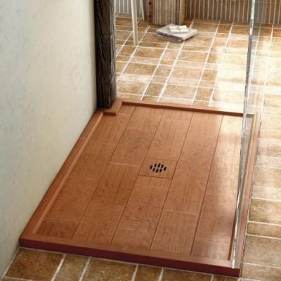 Shower Tray Fiora Silex Rustica - Borders