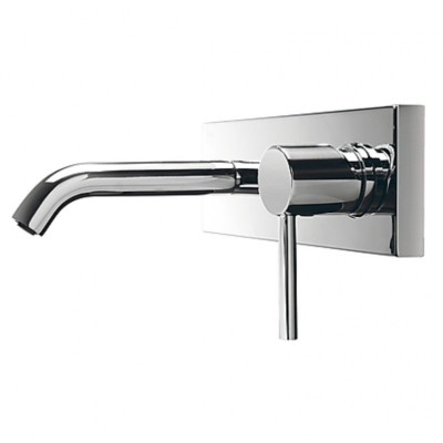 Wall-mounted Tap Tres short spout