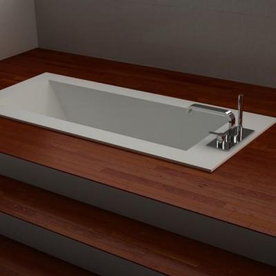 badewanne corian eingelassene. Black Bedroom Furniture Sets. Home Design Ideas