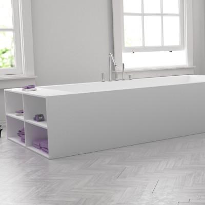 badewanne corian nach ma regalfache seite. Black Bedroom Furniture Sets. Home Design Ideas