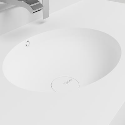 vasque corian oval lavabo design solid surface. Black Bedroom Furniture Sets. Home Design Ideas