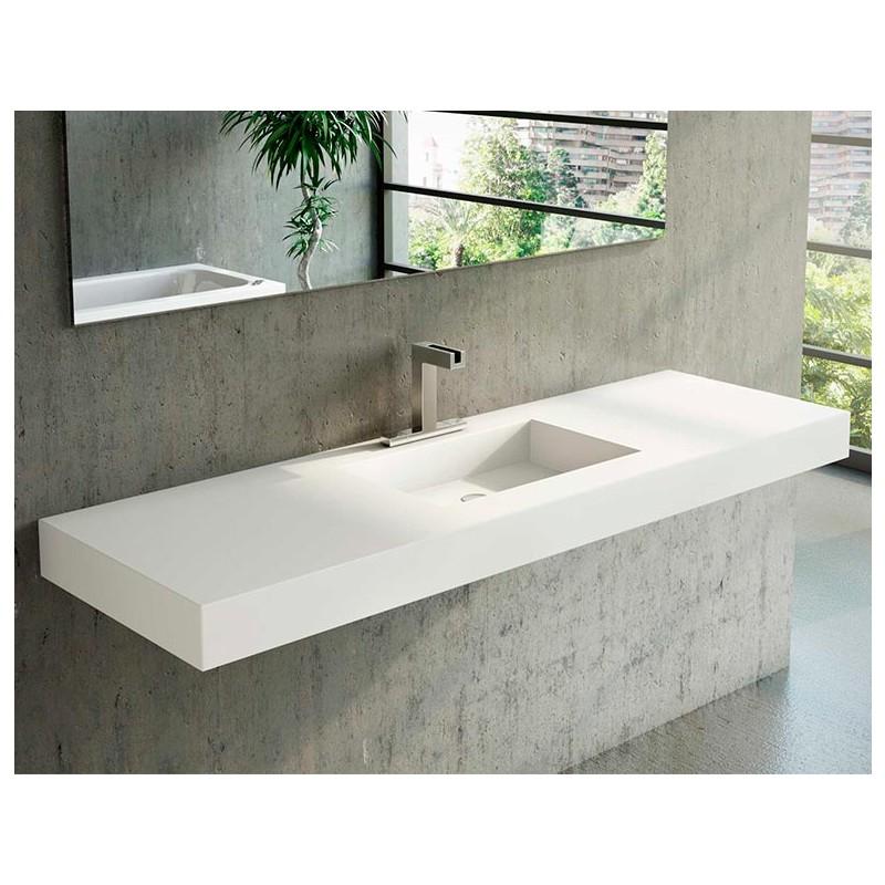 vasque en corian square plan vasque corian. Black Bedroom Furniture Sets. Home Design Ideas